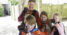 Family Laser Battle (outdoor) at Center Parcs Erperheide