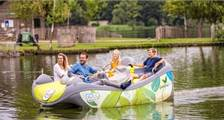 GoGo Electric Boats at Center Parcs De Huttenheugte