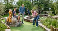 Adventure golf at Center Parcs De Huttenheugte