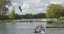 Zip Wire, exhilarating cable-lift at Center Parcs De Huttenheugte