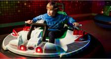Bumper Cars at Center Parcs De Huttenheugte