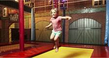 Trampoline at Center Parcs De Huttenheugte