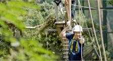 High Adventure Experience (outdoors) at Center Parcs De Kempervennen