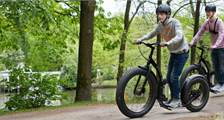 Kick Bike at Center Parcs Het Meerdal