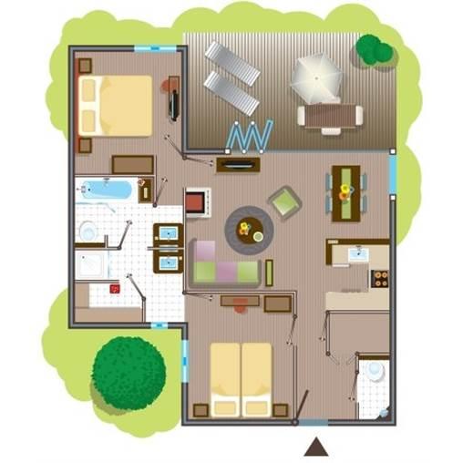px vip cottage tf959 at center parcs les trois for ts. Black Bedroom Furniture Sets. Home Design Ideas
