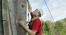 Wall climbing (Outdoor) at Center Parcs De Vossemeren
