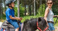 Pony ride at Center Parcs De Vossemeren